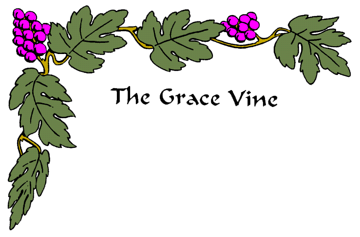 the grace vine newsletter